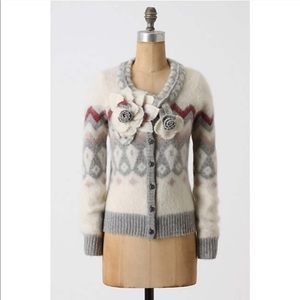 NWT Anthropologie Double Time Cardigan